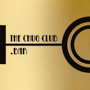 The Chug Club - Logo gold